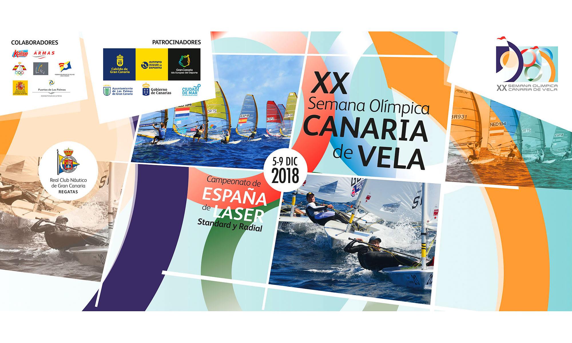 Semana Olímpica Canaria de Vela 2018